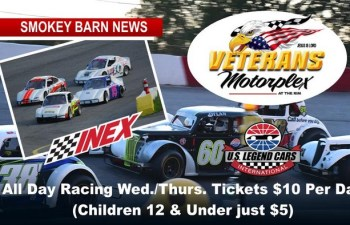 All Day Racing Wed./Thurs., 12 Feature Races, Must-See Event At Veterans Motorplex!