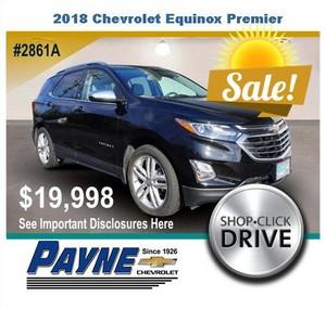 Payne 2018 Chevrolet Equinox 2861A
