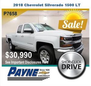 Payne 2018 Chevrolet Siverado P7658
