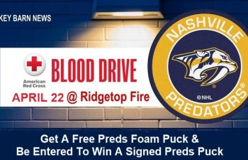 Blood Drive (Nashville Predators) At Ridgetop Vol. Fire Dept