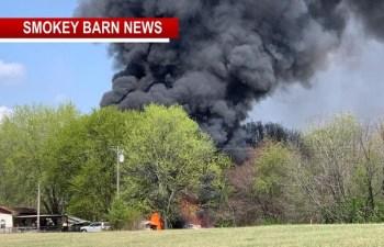FIRE ALERT Triggered By Municipal Structure/Multiple Grass Fires