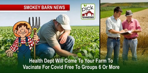 RC Health Dept. Visiting Farms For COVID Vaccinations