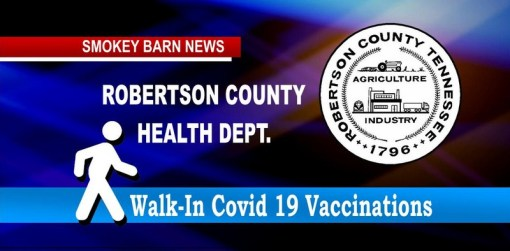 Health Dept: Now Taking Walk-In For Covid-19 Vaccinations