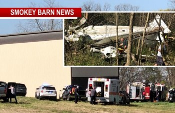 Plane Crashes In Robertson County