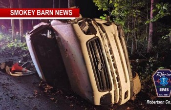Two Teens, 1 Adult Transported Following Rollover Crash In Pleasant View