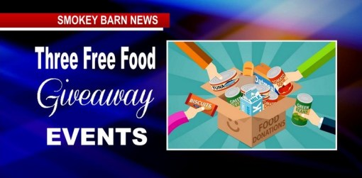 Three Free Food Give Away Events May 5th, 6th, & 7th