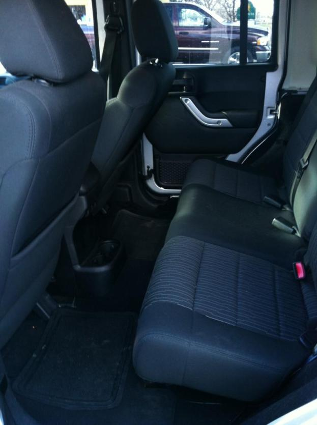 Two extra doors offer ample rear-seat leg room.