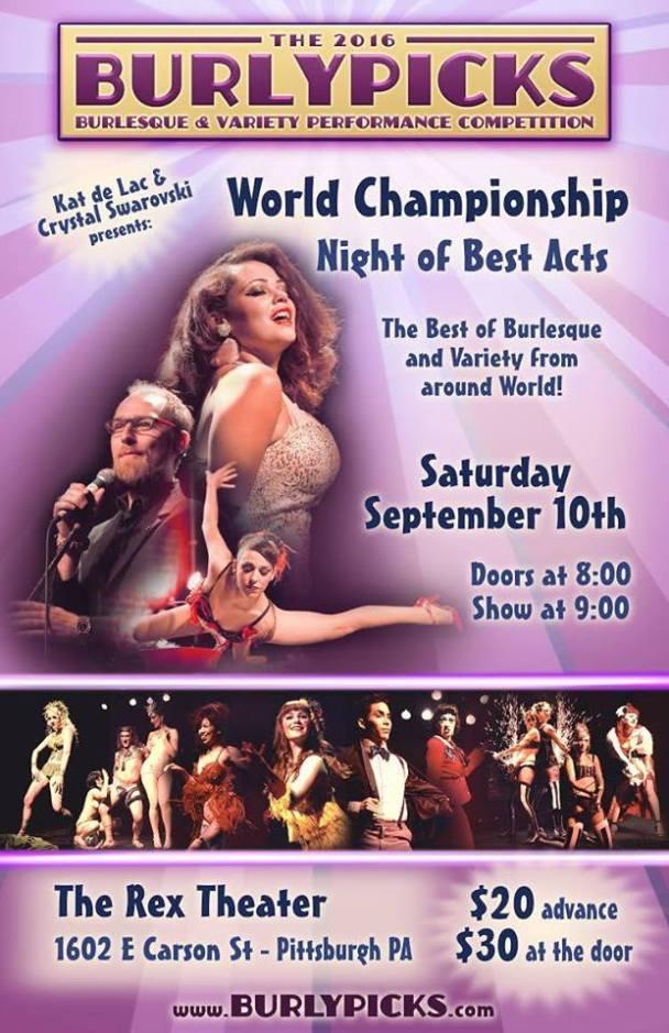 burlypicks show poster