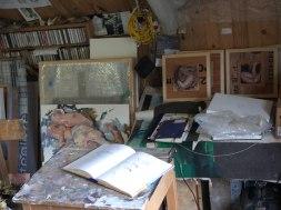 studio desk Glenn Ibbitson