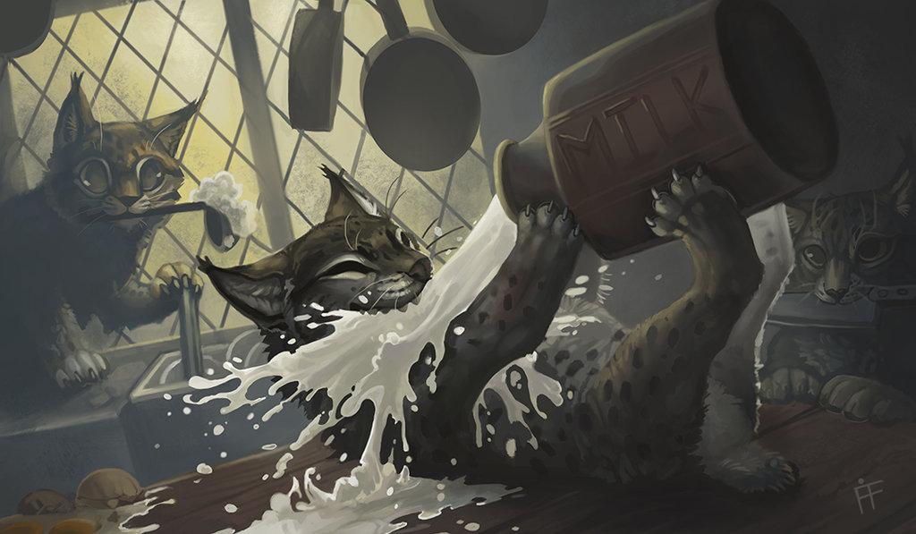 Kitchen Lynx by AlRadeck