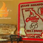 Smokin J's Barbeque Awards