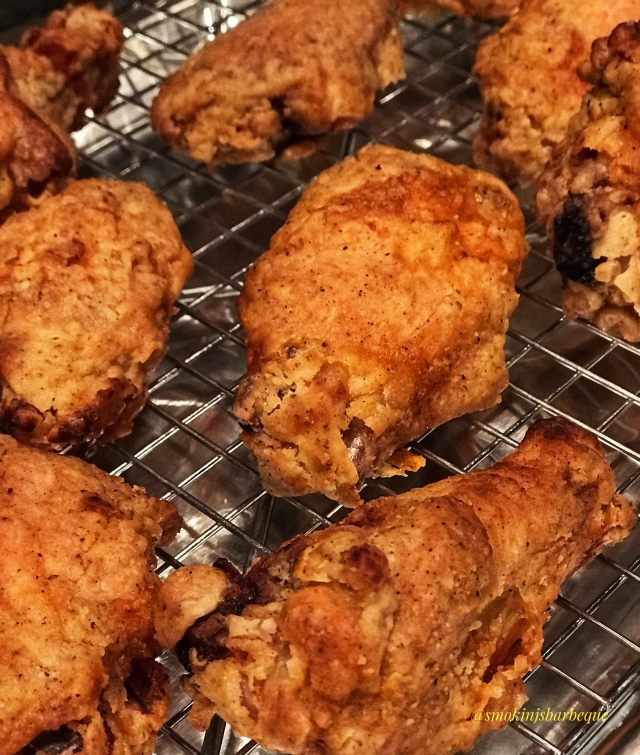 Fried Chicken Wings Using the Grill
