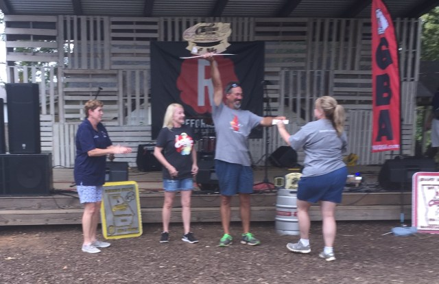 Winning Grand Champion at the Cadence Festival in Woodstock