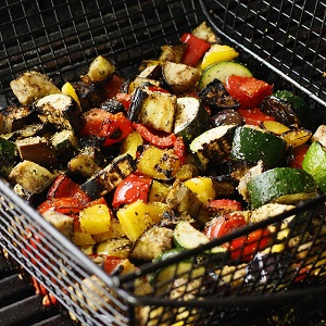 Vegetables are great on the grill for weight loss