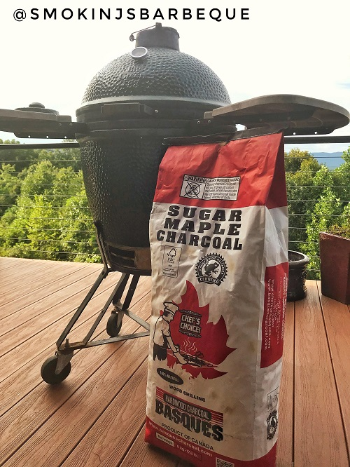 Basque Hardwood Charcoal and the Big Green Egg