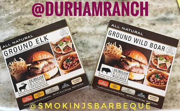 Durham Ranch Wild Boar and Elk ground meat