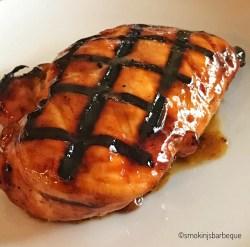 Honey Mustard Glazed Grilled Chicken Breast