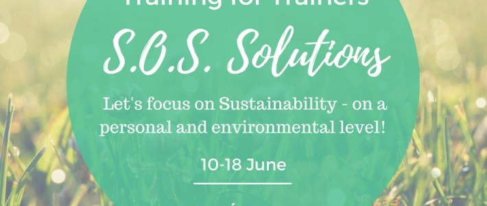S.O.S. Solutions – Training for trainers in Hungary