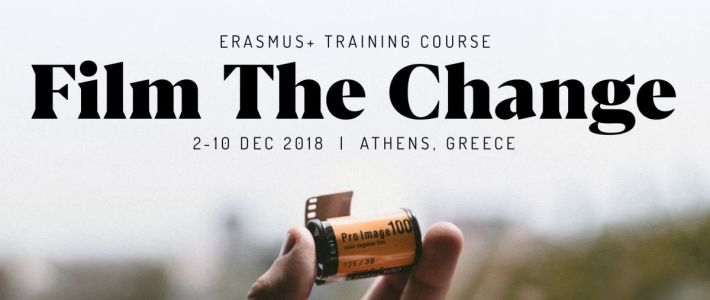 Film The Change – Training course in Greece