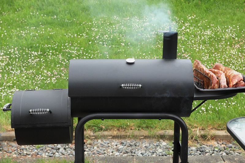Image result for offset smoker