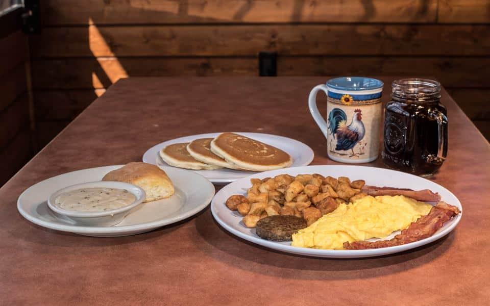 Smoky Mountain Pancake Breakfast, Alamo Steakhouse, Bennetts BBQ, Big Daddy's Pizza, Pigeon Forge Cheddars, Pigeon Forge restaurants, Restaurants in Pigeon Forge, Smoky Mountain Brewery