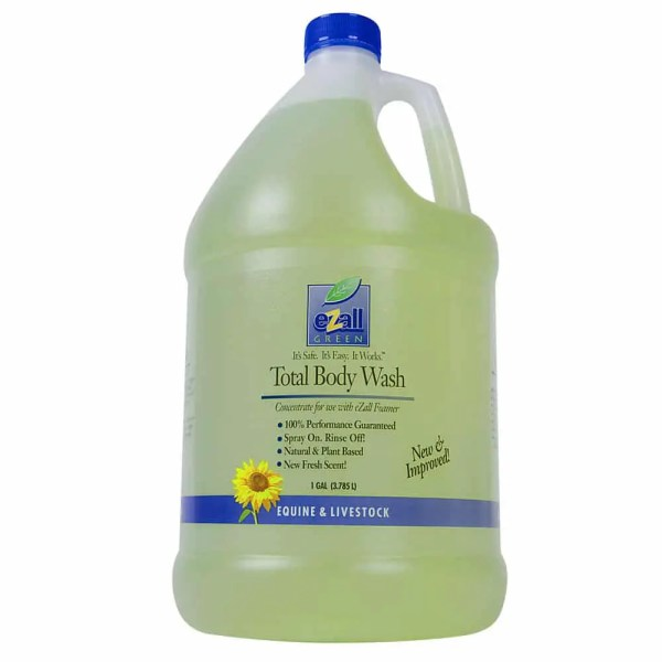 694003 EZALL total green body wash shampoo
