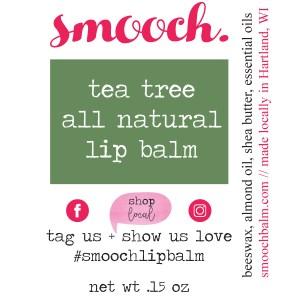 tea tree lip balm