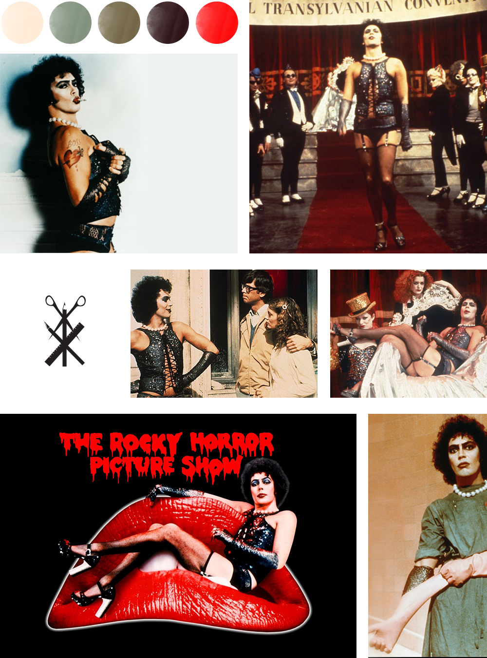 Color Palette Based on Rocky Horror Picture Show