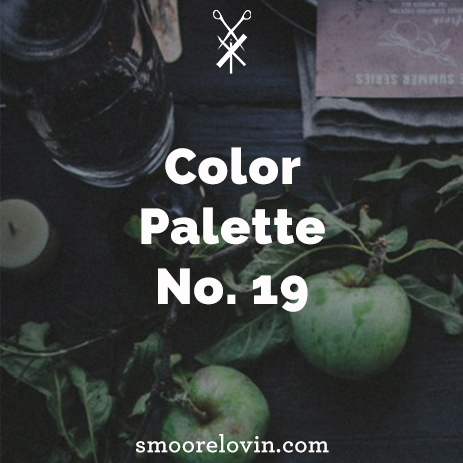Color Palette No. 19 | Thanksgiving Decoration Inspiration