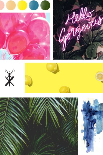 Color Palette No. 21 | All the Summer Vibes in one Palette