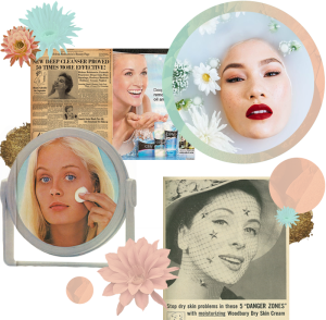 Skincare Ads oer The Years