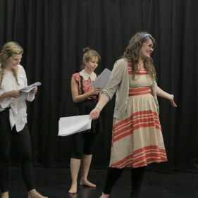 Stella, Ashlea & Maddy in Titus Andronicus