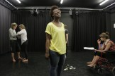 Early rehearsals for Titus Andronicus