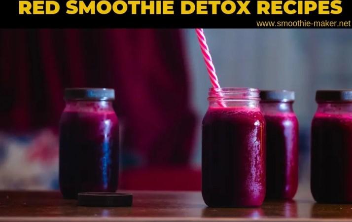red smoothie detox