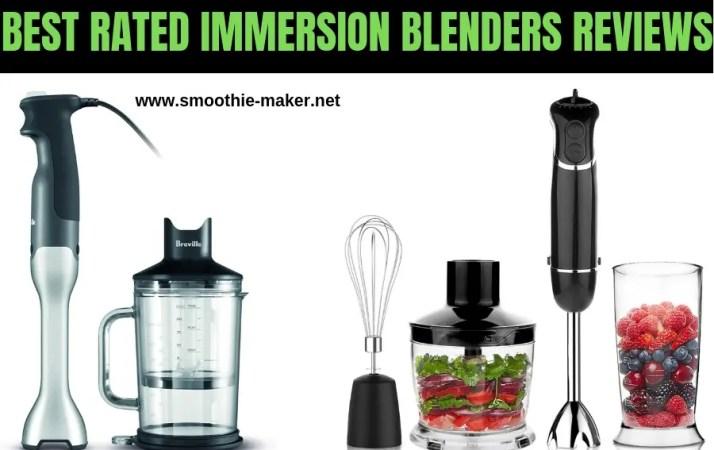 best immersion blenders