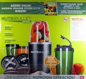 Nutribullet 14 Piece Nutrition Extractor 600W Blender Juicer NBR-1401