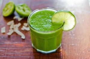 Vanila Lime Green Smoothie