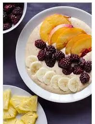 Pineapple And Banana Smoothie Bowl