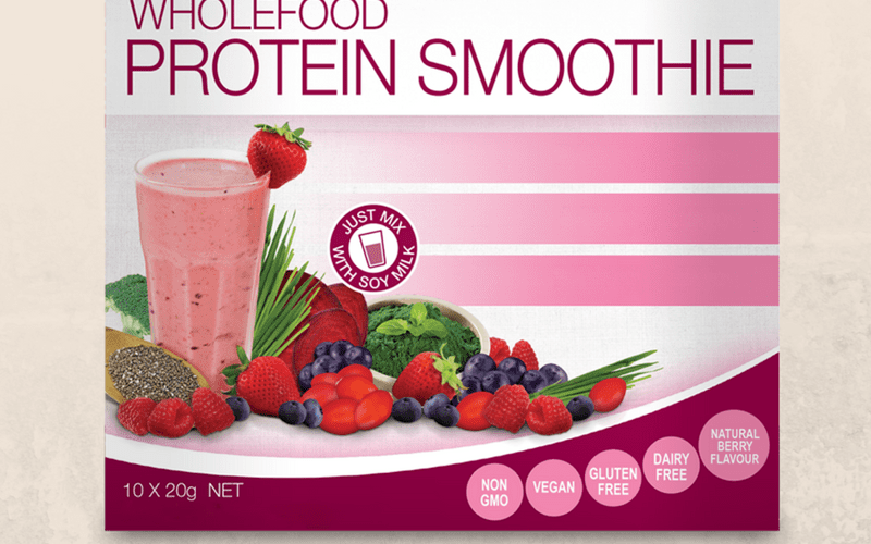 Bioglan berry smoothie protein powder review