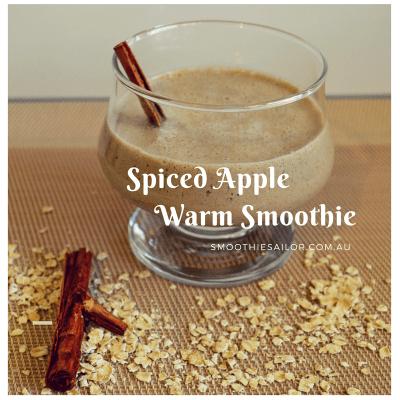 Spiced Apple Warm Porridge Smoothie