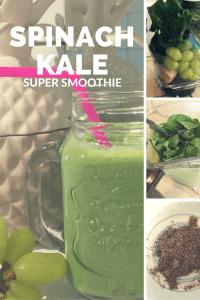 Spinach Kale Super Smoothie