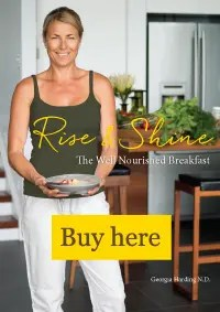 Rise and Shine Well Nourished breakfast book georgia harding