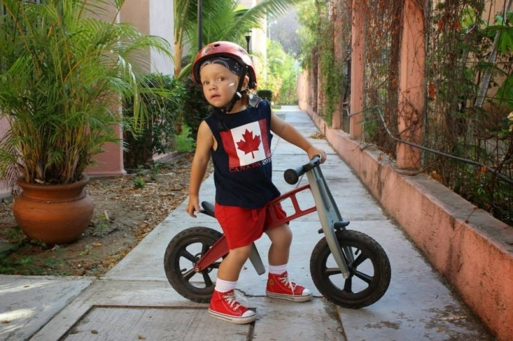 canadian toddler in mexico