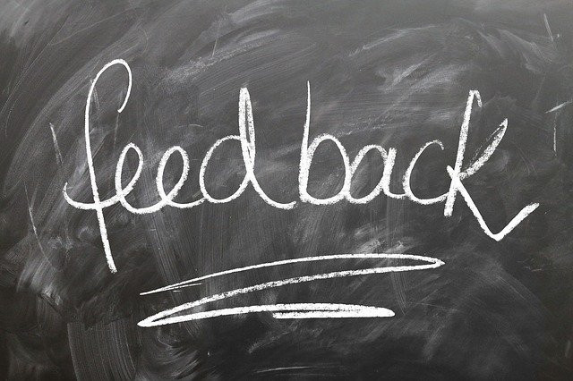 Feedback is reflected output