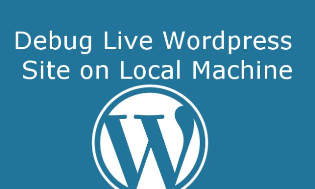 Debug Live WordPress Site on Local Server