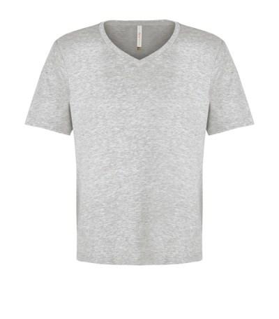 Customizable Unisex V-neck T-shirt - Athletic Heather