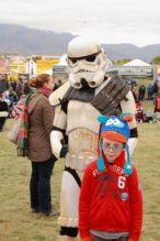 A storm trooper who has survived combat, how unique.
