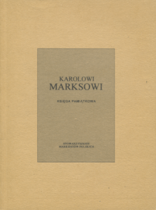 Karolowi Marksowi