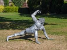 Art work at Hampton Court Castle