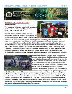 thumbnail of SMHA Oracle – July 2018